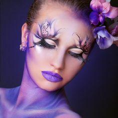 Love this make-up for portrait inspiration Makeup Inspo, Beauty Makeup, Hair Makeup, Unique Makeup, Creative Makeup, Make Up Art, Eye Make Up, Crazy Makeup, Makeup Looks