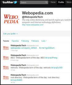 Twitter Dictionary: A Guide to Understanding Twitter Lingo - Webopedia.com