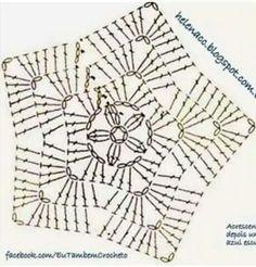 My Own Universe: Crochet Patterns For Geeks - Diy Crafts Filet Crochet, Mandala Au Crochet, Crochet Diy, Crochet Stars, Crochet Blocks, Crochet Snowflakes, Crochet Diagram, Crochet Round, Crochet Motif