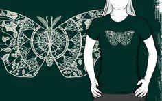 Polyphemus Moth Paper-Cut by thethinks