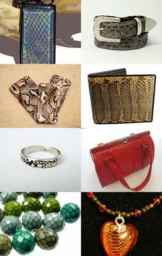 Snake Skin by altina silverson on Etsy--Pinned with TreasuryPin.com