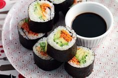 Easy toddler friendly sushi.  Young Master Noonan might get a variation with avacado and chicken...
