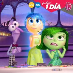 Yaaaa Yaaaa! Vamos que nos vamos! Falta muy poquito para #azulF17 y #amarillo F17!Listas para #Disney?