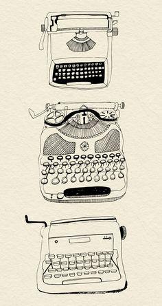 typewriters Zoe Ingram