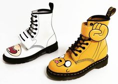 Adventure Time x Dr. Martens – Some cute shoes for the fans of Finn and Jack