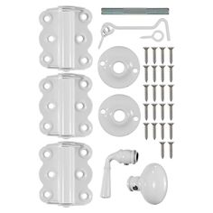Wright Products Vinyl Screen Door Kit in White-V321WH - The Home Depot