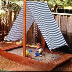 Идеи песочниц для дачи и детской площадки