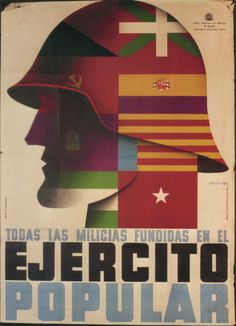 Designer unknown, 1937, All militias melted in the popular army. (Spain)