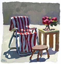 Peggi Kroll Roberts : Gouache Paintings : www.krolllroberts.com