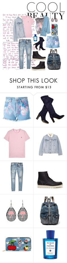 """""""Him & Her •"""" by mariasanchristy ❤ liked on Polyvore featuring Forte Couture, Forever 21, Loro Piana, Polo Ralph Lauren, Levi's, River Island, 21 Men, RRL, Viola and Acqua di Parma"""