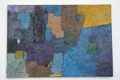 Composition  Huile sur toile 38x55cm