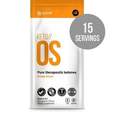 KETO OS by Pruvit. The First and Only Ketone Drink that Puts You In Ketosis in 59 Minutes. 15 Full Serving Sachets of Keto OS with 10 FREE Ketone Test Strips *** Read more reviews of the product by visiting the link on the image.