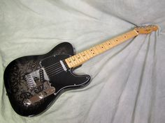 Fender Telecaster in Black Paisley