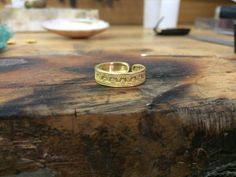 22k Solid Gold  Ring, Entirely Handmade with Ancient Greek Design by MDjewelery on Etsy https://www.etsy.com/listing/547512856/22k-solid-gold-ring-entirely-handmade