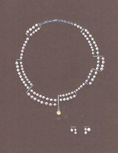 earrings sketches - Căutare Google Sea Glass Jewelry, Pearl Jewelry, Gemstone Jewelry, Jewelery, Fine Jewelry, Jewelry Necklaces, Bijoux Design, Schmuck Design, Mother Of The Bride Jewelry