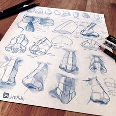 Nose anatomy study @jamesngart #sketch