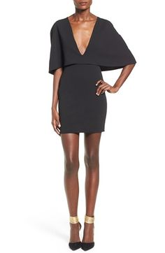 Missguided Cape Body-Con Dress available at #Nordstrom