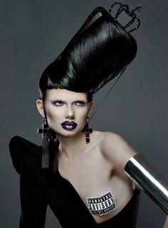 Tony Veloz for FACTICE #14 avant garde hair
