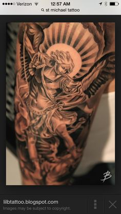 Awesome ST Michael tattoo