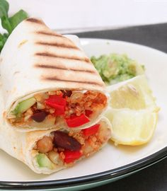 Gesund & unglaublich lecker: Quinoa Burritos