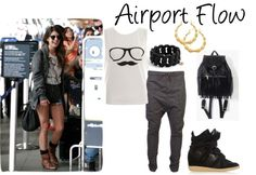 """""""airport flow"""" by cocochristelle on Polyvore"""