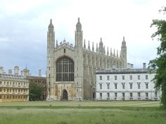 """""""Kings College Chapel"""" by Thomas Crossley at PicturesofEngland.com"""