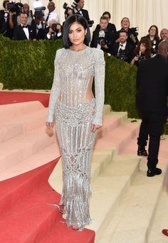 Met Gala 2016 - Kylie Jenner in Balmain.