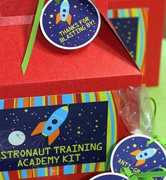 SPACE Birthday PARTY Supplies from The by CelebrationShoppe
