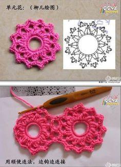 Patron para hacer un vestido a crochet para niña06