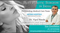 #Cosmeticandobesitysurgeryservice India providing new lease of life, high quality treatment with #DrVipulNanda, he is one of the #bestplasticsurgeoninIndia With over 23 years of experience. For Immediate Appointment- +91-9373055368 For Fast Track Query Reply- drvipulnanda@obesitycosmetichospital.com #DrVipulNandaIndia #ConsultTopPlasticsurgeonatArtemisHospitalGurgaon #TopReconstructiveplasticSurgeoninIndia Best Plastic Surgeons, Plastic Surgery, Medical Care, Appointments, Restoration, Track, India, Life, Indie