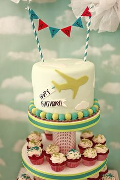 Up, Up, and Hooray! A Cool Airplane Birthday Party