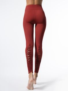 Padang Leggings in Red Dahlia by Carbon38 from Carbon38