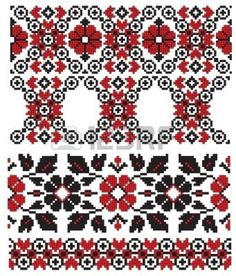 Folk Embroidery Patterns ukrainian pattern embroidery old Folk Embroidery, Learn Embroidery, Embroidery Patterns, Machine Embroidery, Cross Stitch Borders, Cross Stitch Patterns, Bordado Popular, Antique Quilts, Embroidery Techniques