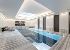 This indoor swimming pool is incredible! #swimming pool #Ottawa #ottawarealestate #remax
