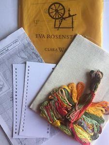 Eva Rosenstand Clara Waever Danish Cross Stitch Kit Picture Of Fruits Flowers    eBay