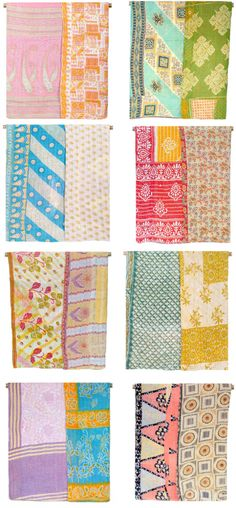 let's put this on paper and throw it over an office http://www.goinghometoroost.com/2012/handmade/vintage-kantha-quilts/