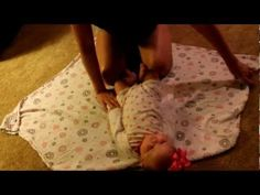 One Minute Mom: How to Swaddle a Baby - Super Swaddle to Help babies sleep…