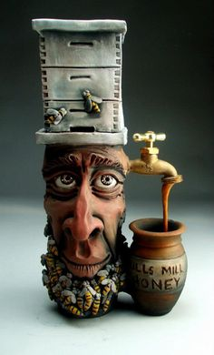Mitchell Grafton, sculpture #art #sculpture would be funny for brad