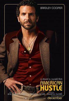 "Bradley Cooper dans le film ""American Hustle"" - 2013 © Copyright Brigitte Lacombe"