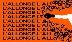 L'Allonge - Typeface preview on Behance