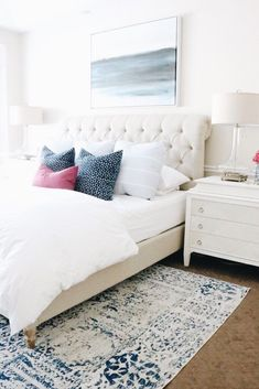 Home interior Design Videos Living Room Hanging Plants Link – Right here are the best pins around Coastal Home interior! Decoration Bedroom, Home Decor Bedroom, Modern Bedroom, Neutral Bedrooms, Cozy Bedroom, Master Bedroom, White Bedroom, Bedroom Inspo, Bedroom Inspiration