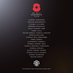 Manchester United players gave their lives in armed conflict http://www.lifeismufc.in/2014/11/manchester-united-players-who-gave.html