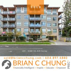 Recently sold studio home in the heart of Guildford Town Centre. Walking distance to everything. North Vancouver, Financial Literacy, Home Studio, In The Heart, Surrey, Distance, Centre, Condo, Home And Family