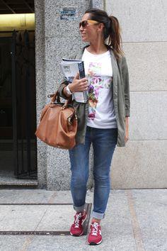 look zapatillas new balance violetas - Buscar con Google
