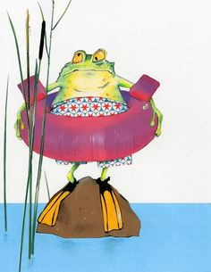 Frog by Robert Wagt.