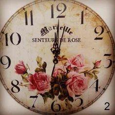 Reloj de pared vintage. Gara Deco.