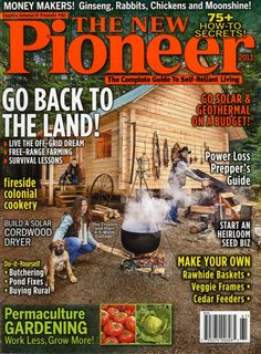 The New Pioneer Magazine (books forum at permies)