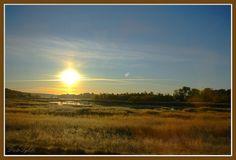 Sunrise near Kalmar - Sweden by Piotr Tylski, via Flickr