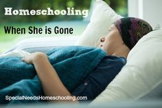 What would you do if tomorrow you were the sole homeschooling parent? Here is how we are facing that daunting decision. #hospice