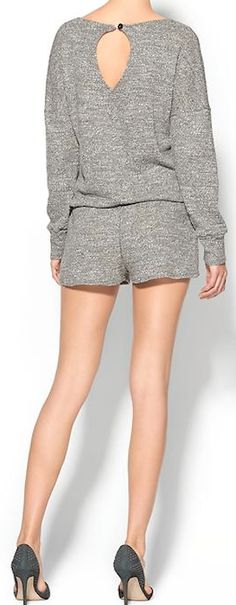 cute grey romper for beach nights http://rstyle.me/~44Ofd